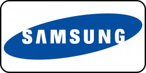 Samsung logo frame